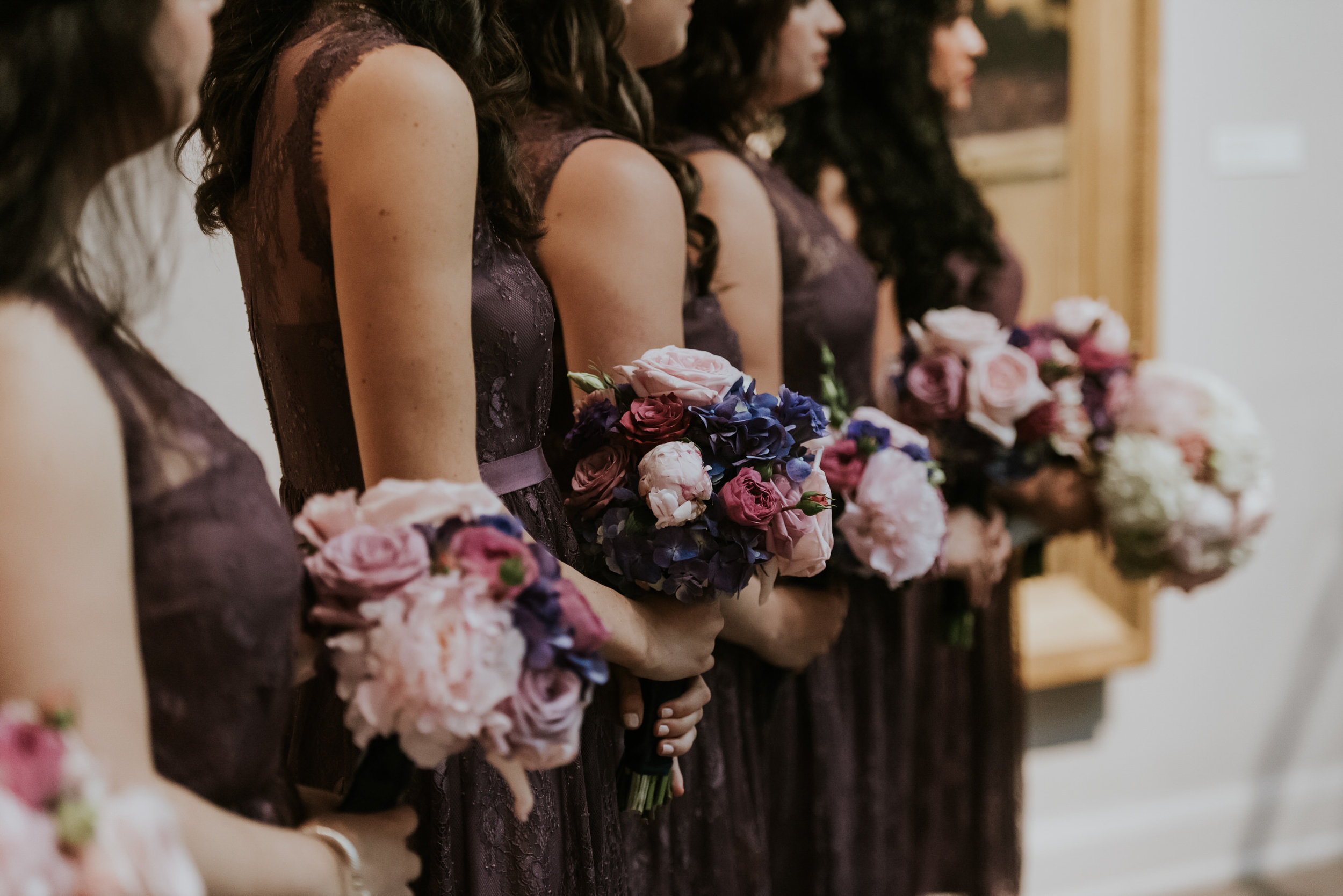 17 Philadelphia Wedding PAFA BHLDN Bridesmaids Bouquets Aribella Events.jpg