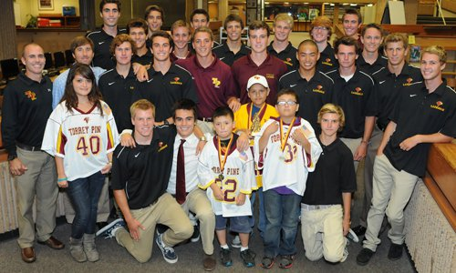 Torrey Pines High School Boys Lacrosse 'adopts' Jose Montano