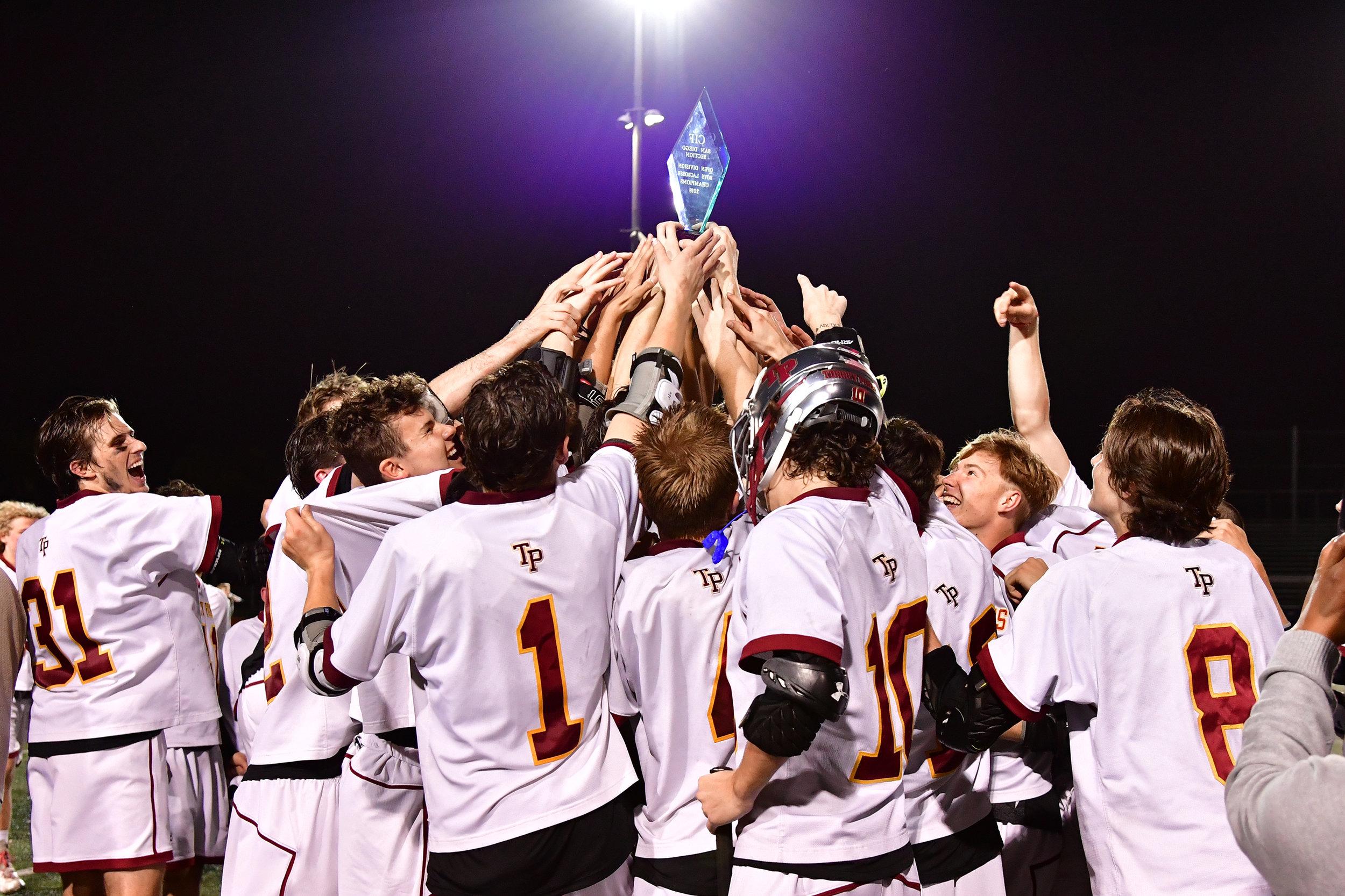 Torrey Pines boys claim CIF lacrosse title with comeback win over Coronado