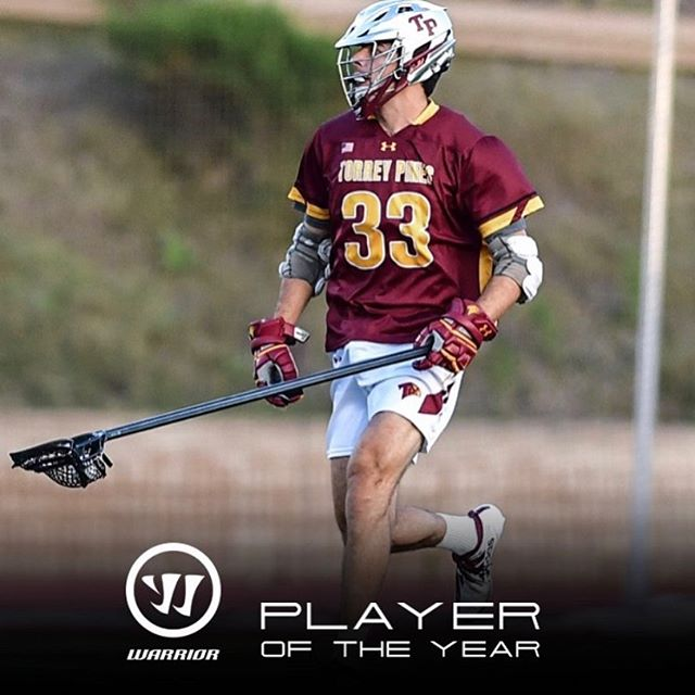 Closing the book on a tremendously successful 2019 season with our captain, @marco_napolitano being named @uslacrossemag & @warriorlax Western Player of the Year. This is the second straight season TP has produced the Western POY.  Individual awards are the result of team success, so kudos to our entire defensive unit who all share in this prestigious 🏆! 🔒 🥍 #TPvEB  Read all about it here: https://www.uslaxmagazine.com/high-school/boys/west-poty-marco-napolitano-keeps-torrey-pines-defense-in-good-hands