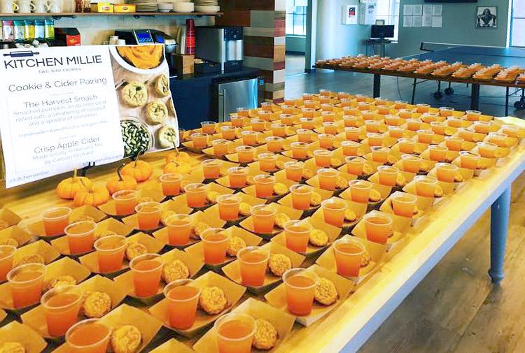 Tripadvisor Cookies and Cider Event | kitchenmillie.com
