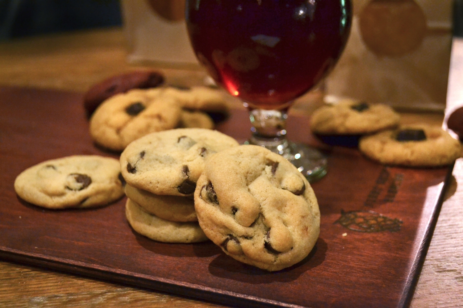 """Unrivaled Classic"" Chocolate Chip Cookie and Beer at Night Shift in Boston 