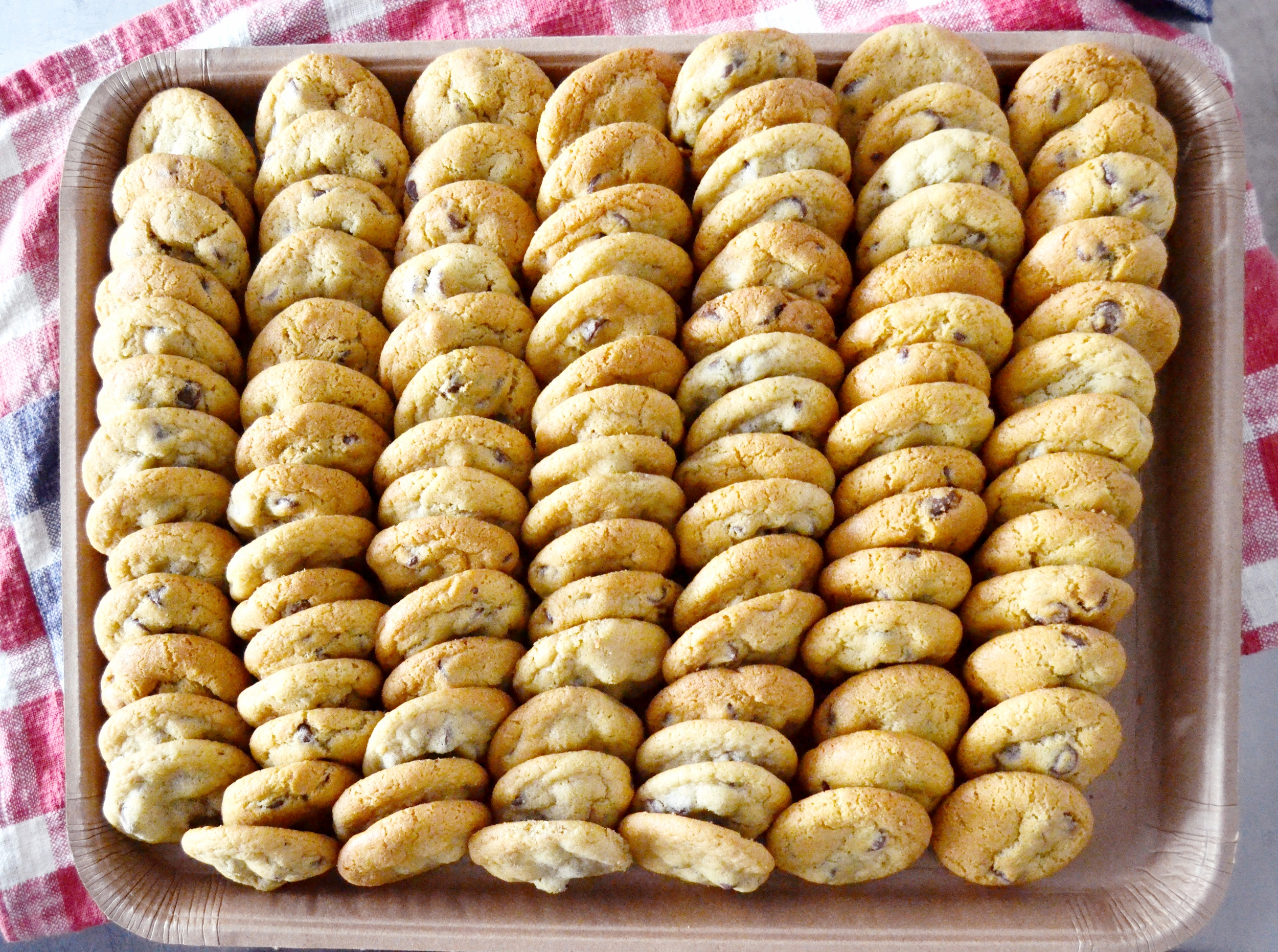 Chocolate Chip Cookie Catering Platter