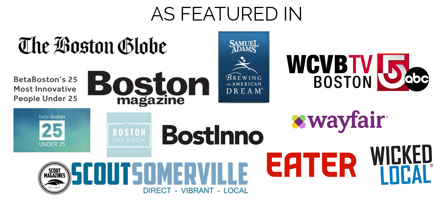 A few of the places we've been featured!