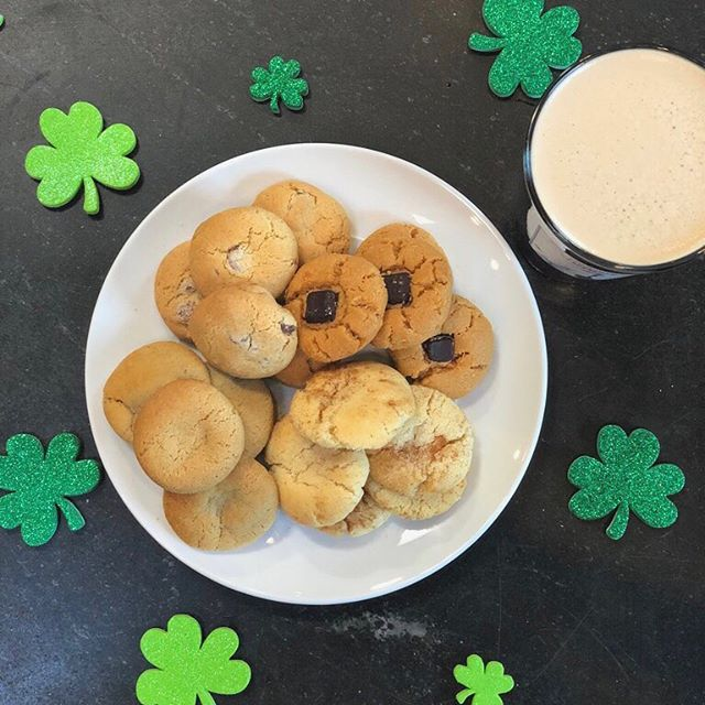 Corn beef, cabbage, and... cookies 🤔 -- putting our spin on tradition 😂 ☘️Happy St. Patrick's Day!☘️
