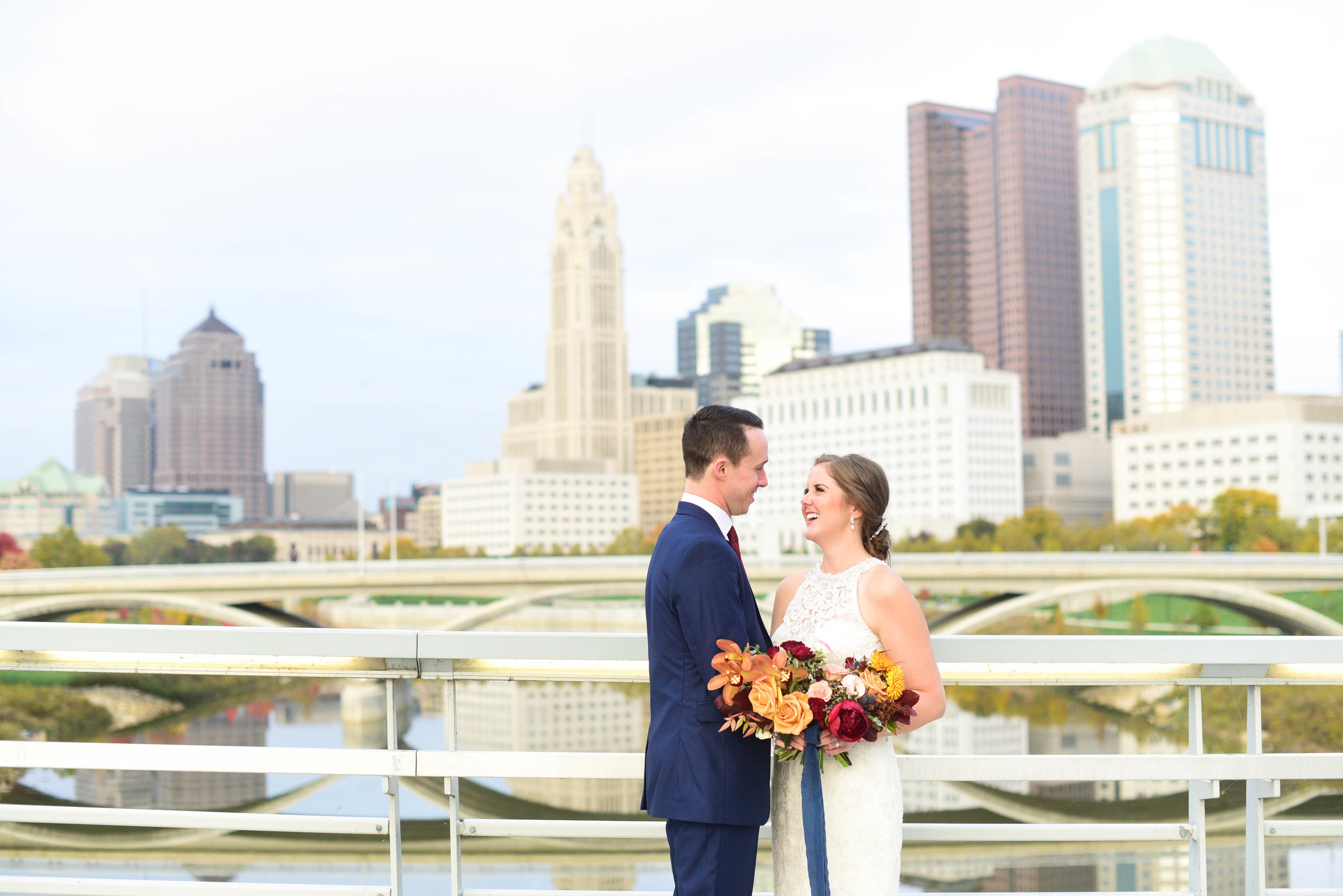 Downtown Columbus Wedding