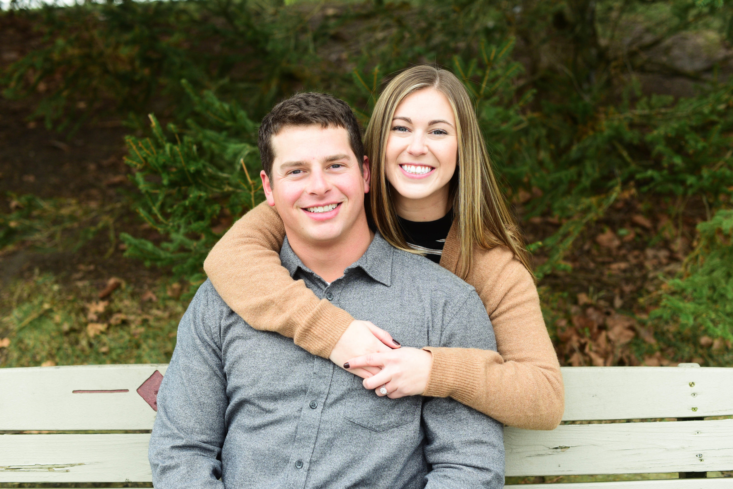 Homestead Park Engagement Session