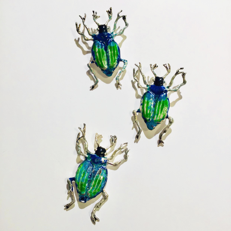 Käferohrclip und Anhänger