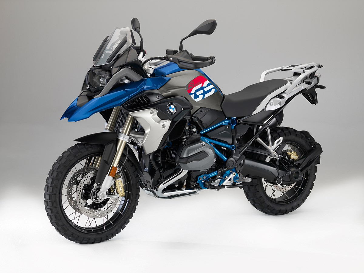 2018 BMW R1200GS Rallye Edition
