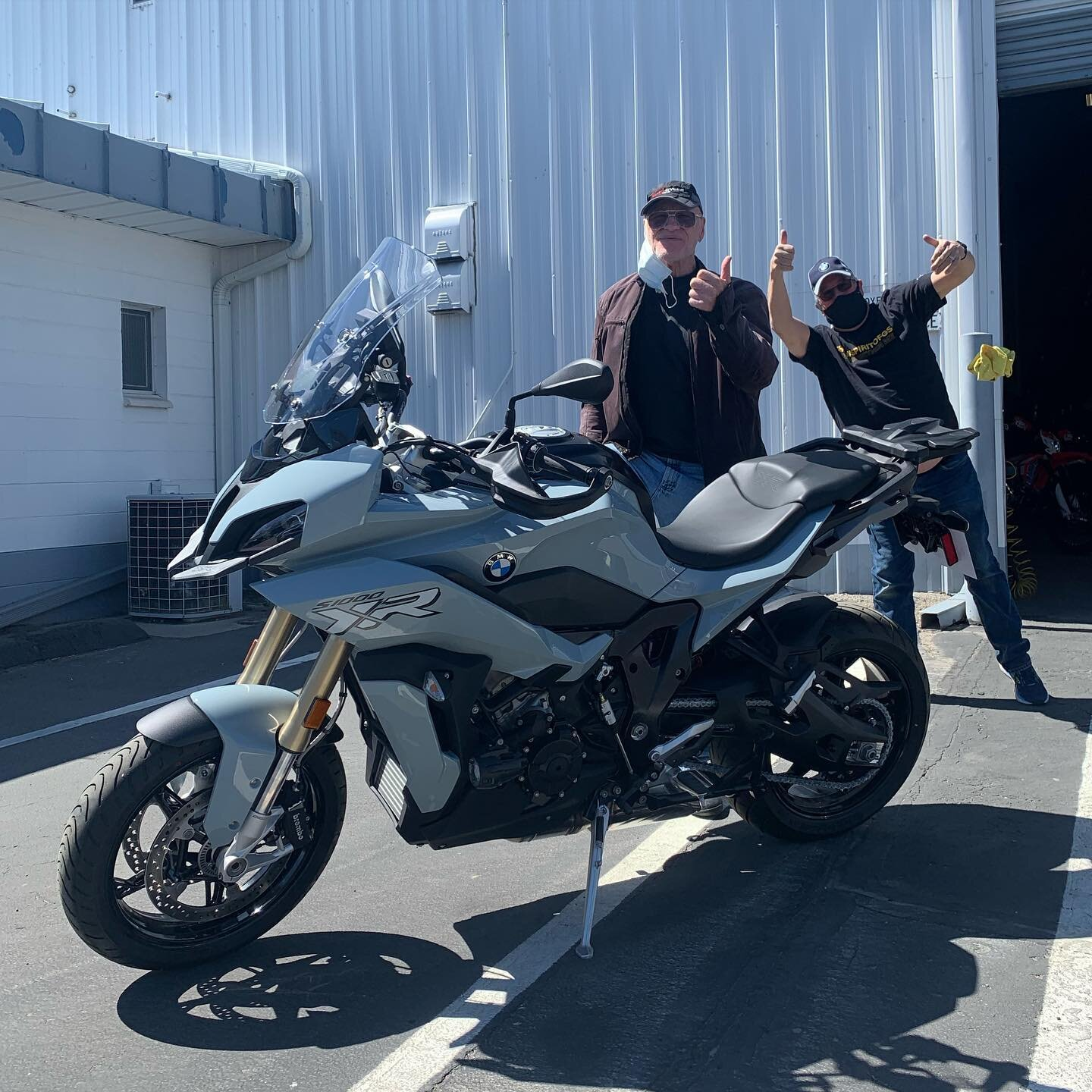 """""""New York"""" George L. - 2020 BMW S1000XR. Lifetime bike count...75!  NY George rules! Congrats and many thanks! 🤘🏍😀  • • • www.sierrabmw.com www.shopbmwmotorcycle.com parts.sierrabmw.com . . #bmw  #bike  #motorcycle  #reno #sparks #carsoncity #laketahoe #truckee #nevada  #california #dealer  #sierrabmw #makelifearide  #bikelife  #neverstopchallenging #s1000xr"""