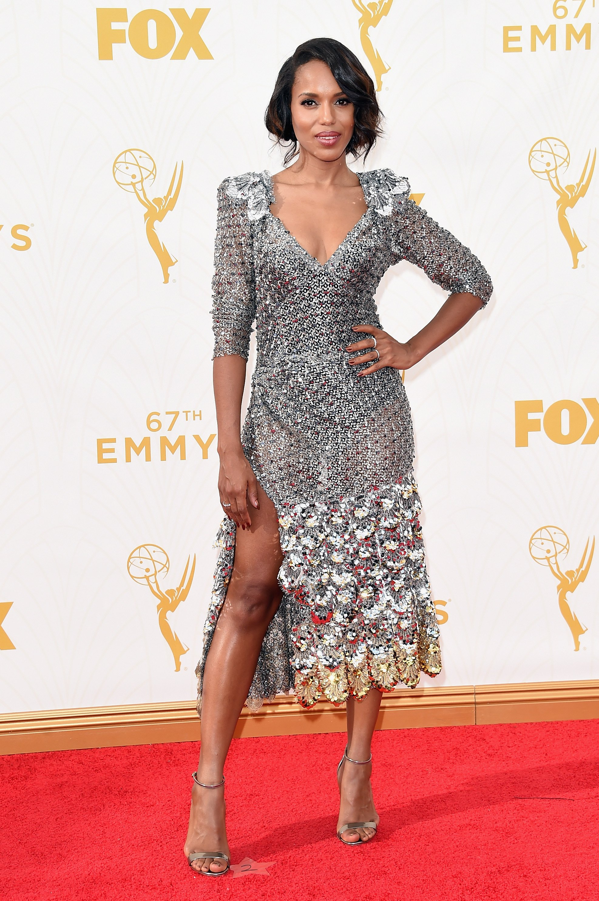of course kerry washington killing it in marc jacobs    photo: getty images