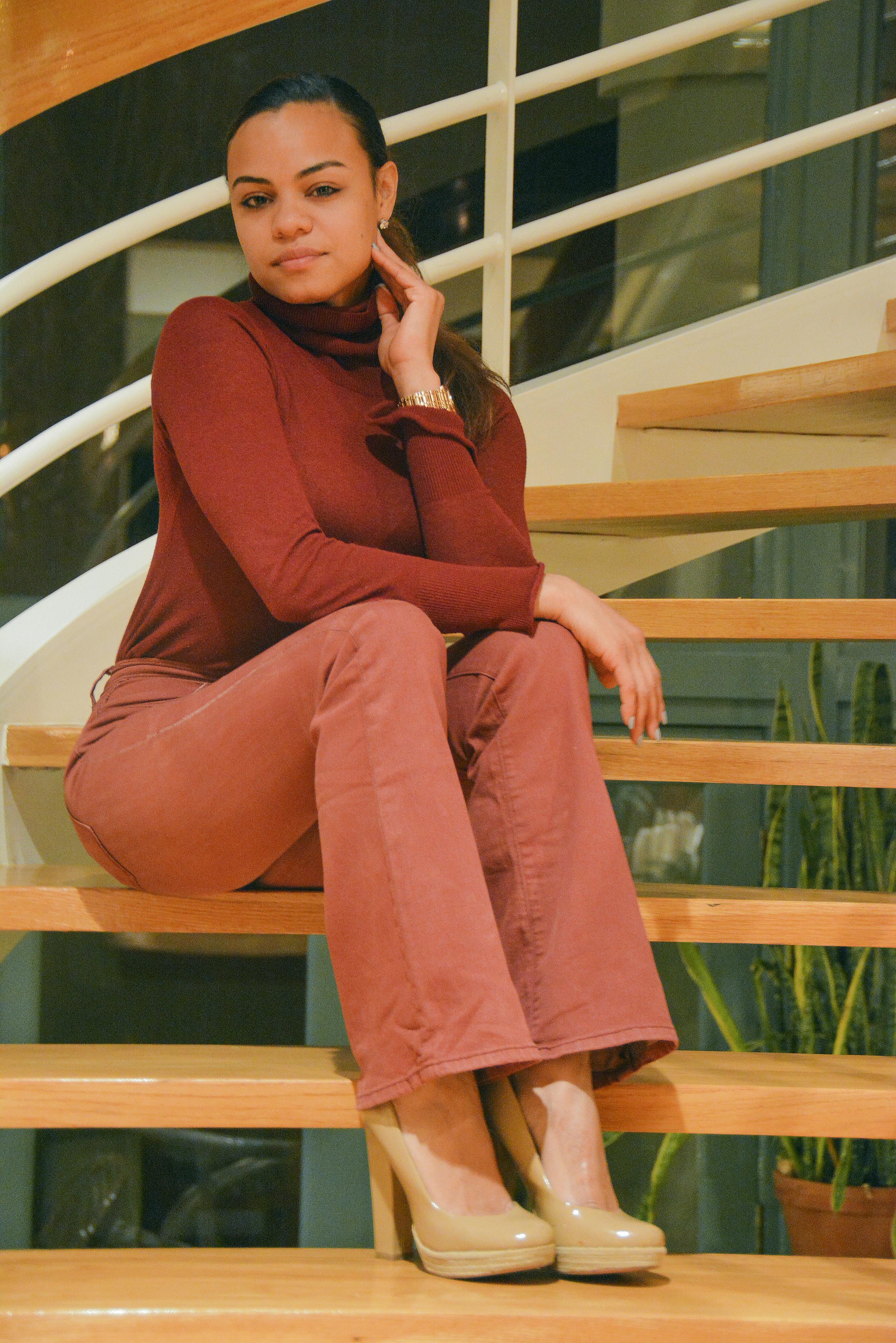 wearing: Silence + Noise jeans, Zara top, Betsy Johnson heels