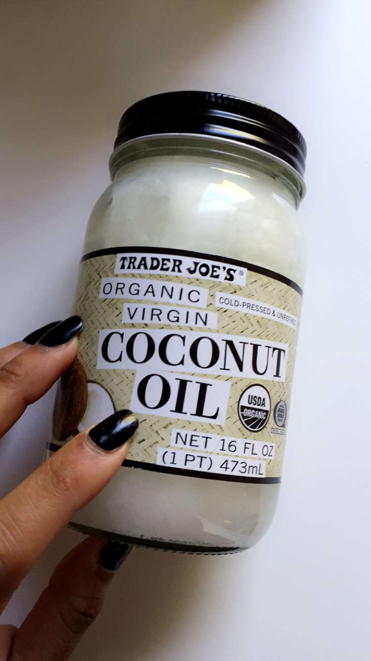 coconut oil from trader joes