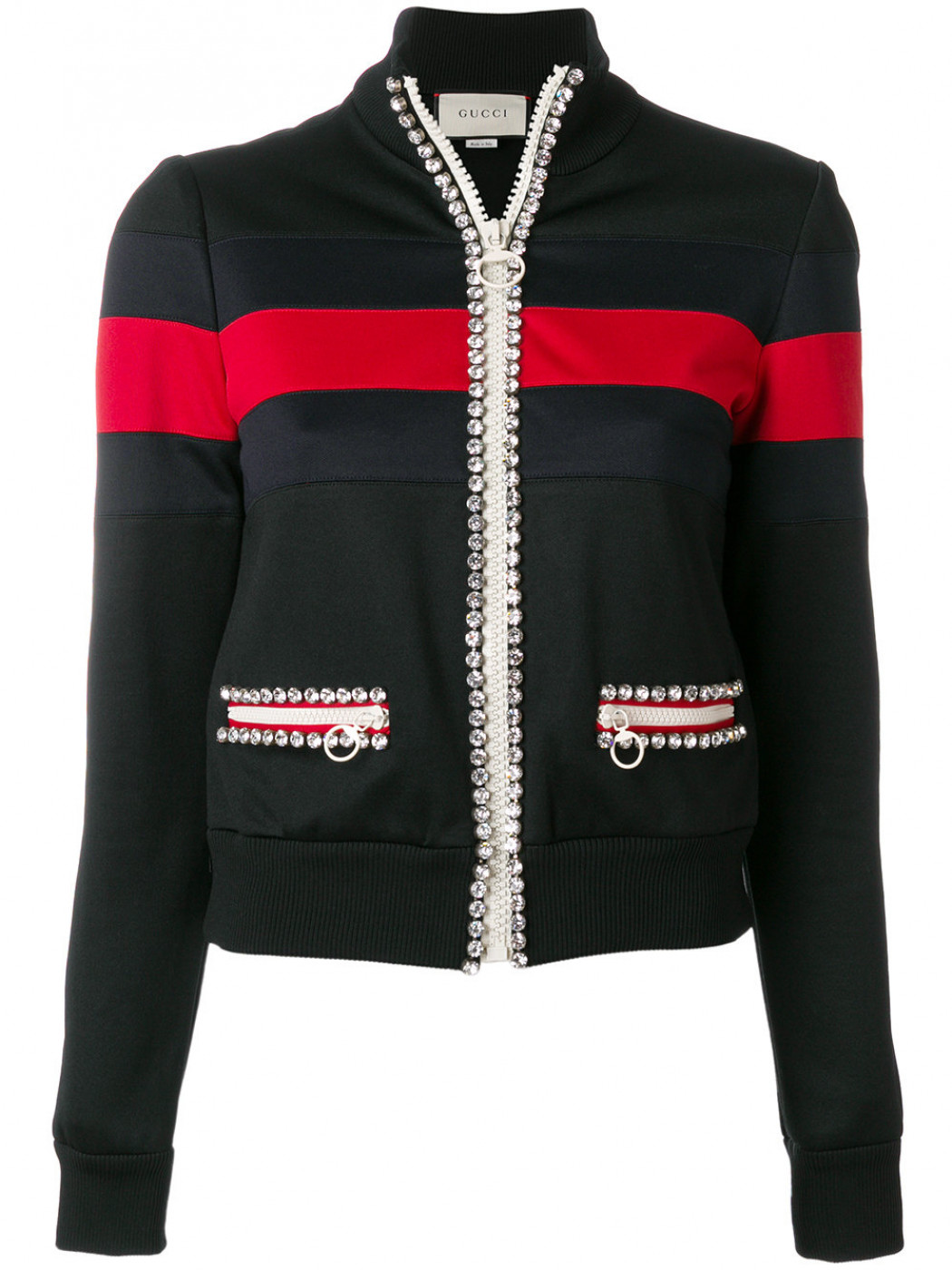Gucci - Crystal-embellished Jersey Jacket, Gucci.com, $1,878