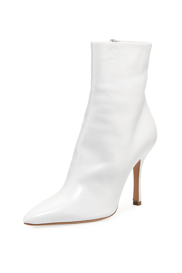 The Row - Gloria Leather 100Mm Bootie, $1,250