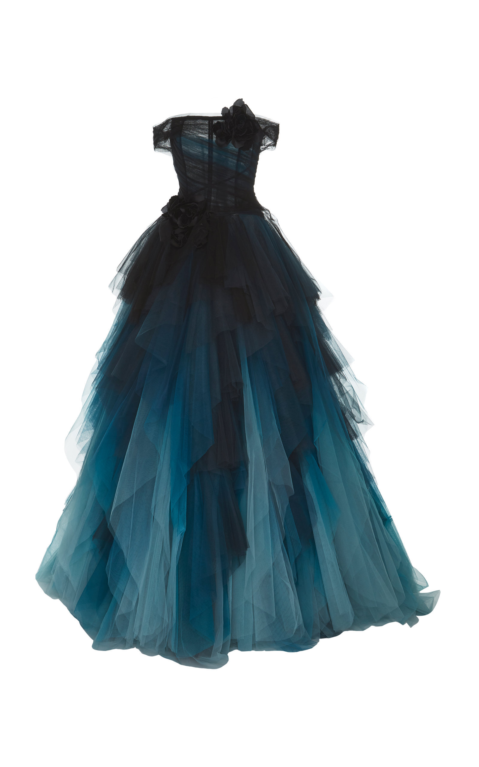 Marchesa - Off The Shoulder Ball Gown, $12,995