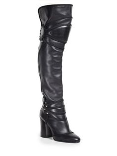 Dolce & Gabbana - Knight Armor over-the-knee boots