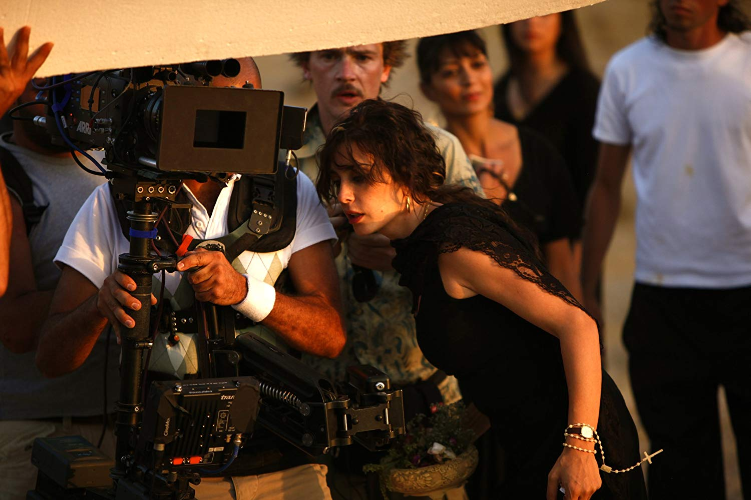 Nadine Labaki on the set of Where Do We Go Now? Photo: Sony Pictures