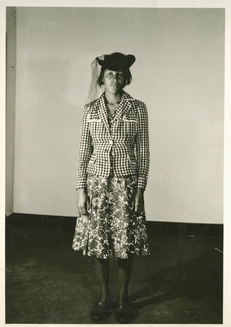 Mrs. Recy Taylor, 1944. Courtesy of The People's World/Daily Worker and Tamiment Library and Robert F. Wagner Labor Archives, New York University.