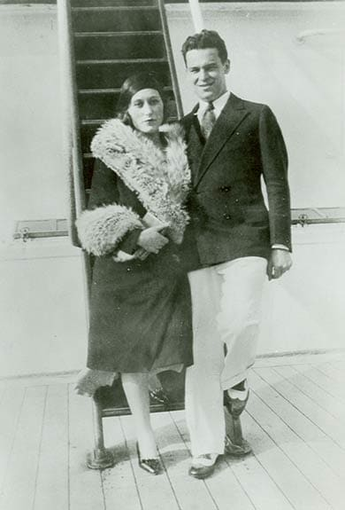 Estée and Joseph Lauder. Photo: Estée Lauder
