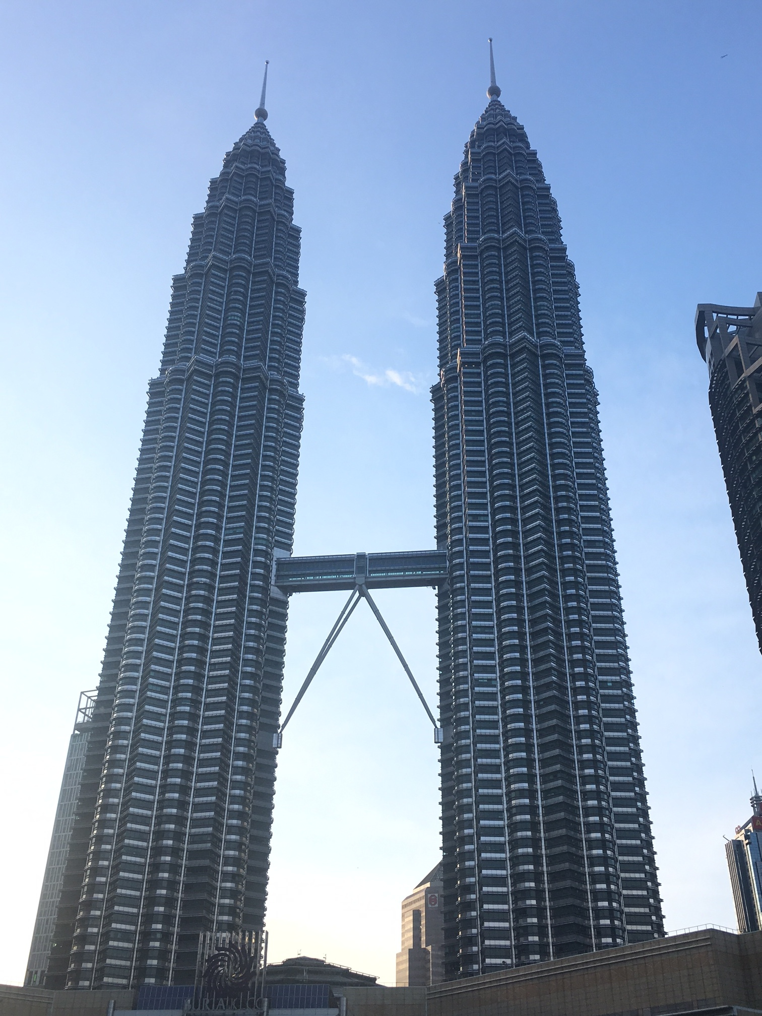 The iconic Petrona Twin Towers, tallest twin towers in the world.