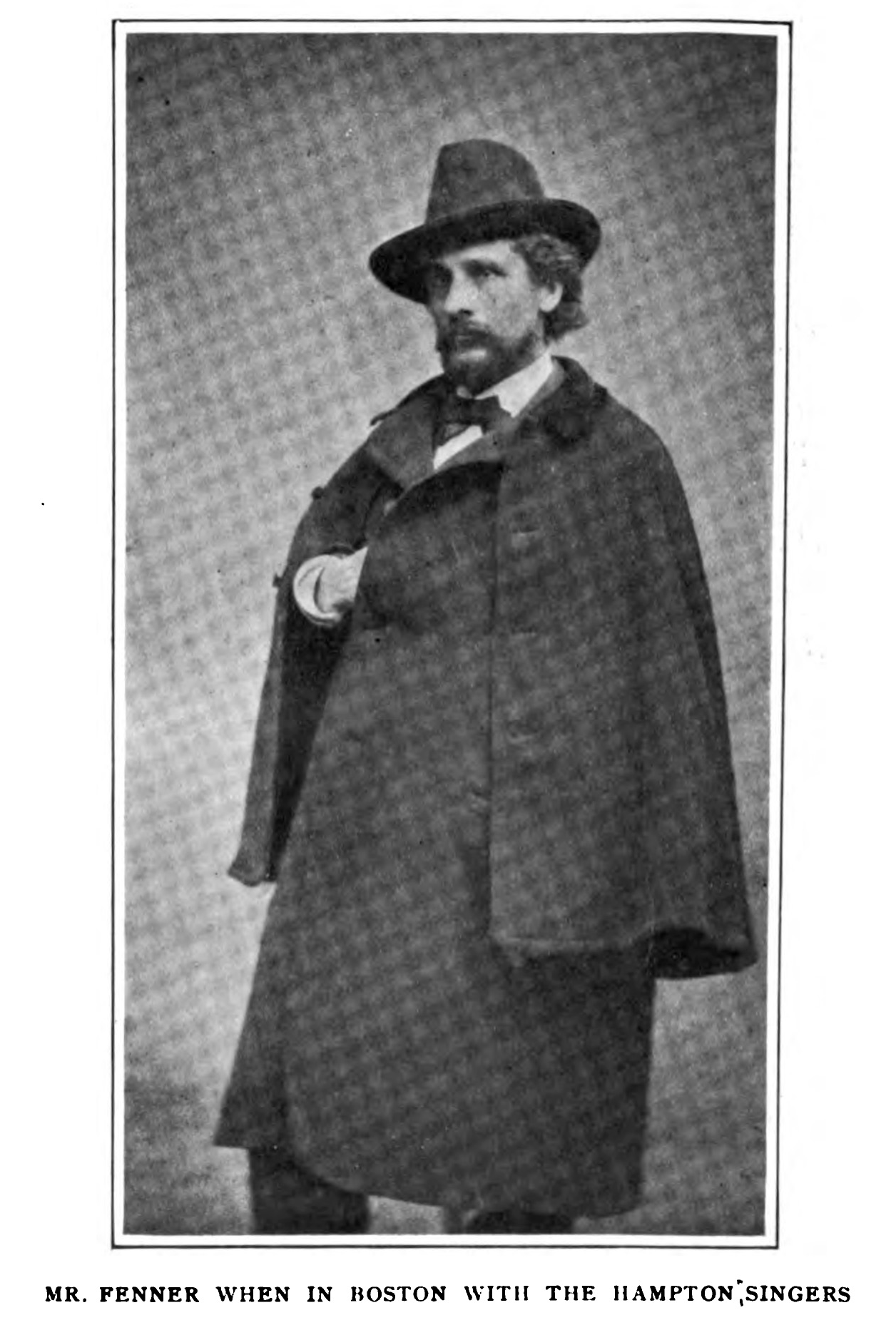 Thomas Fenner,ca. 1873-75, in  The Southern Workman  (1912).