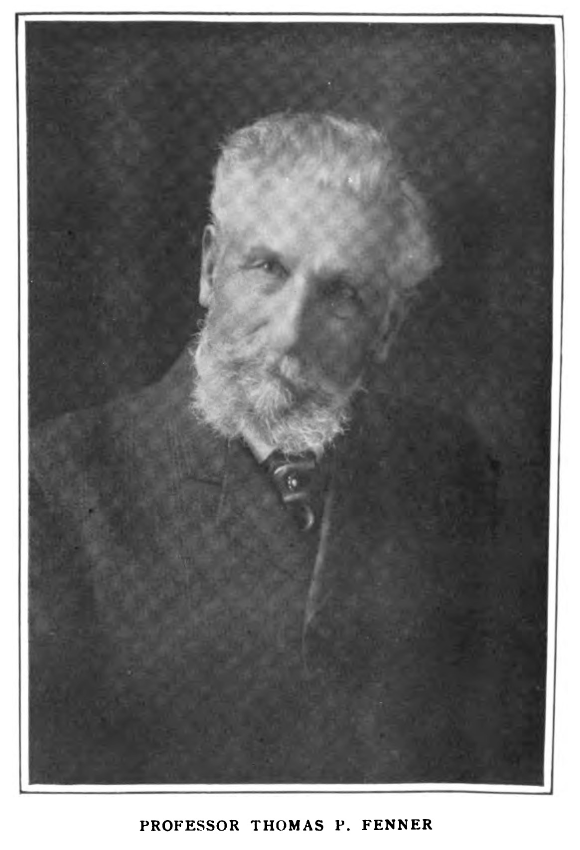 Thomas P. Fenner, undated photo, in  The Southern Workman (1912).