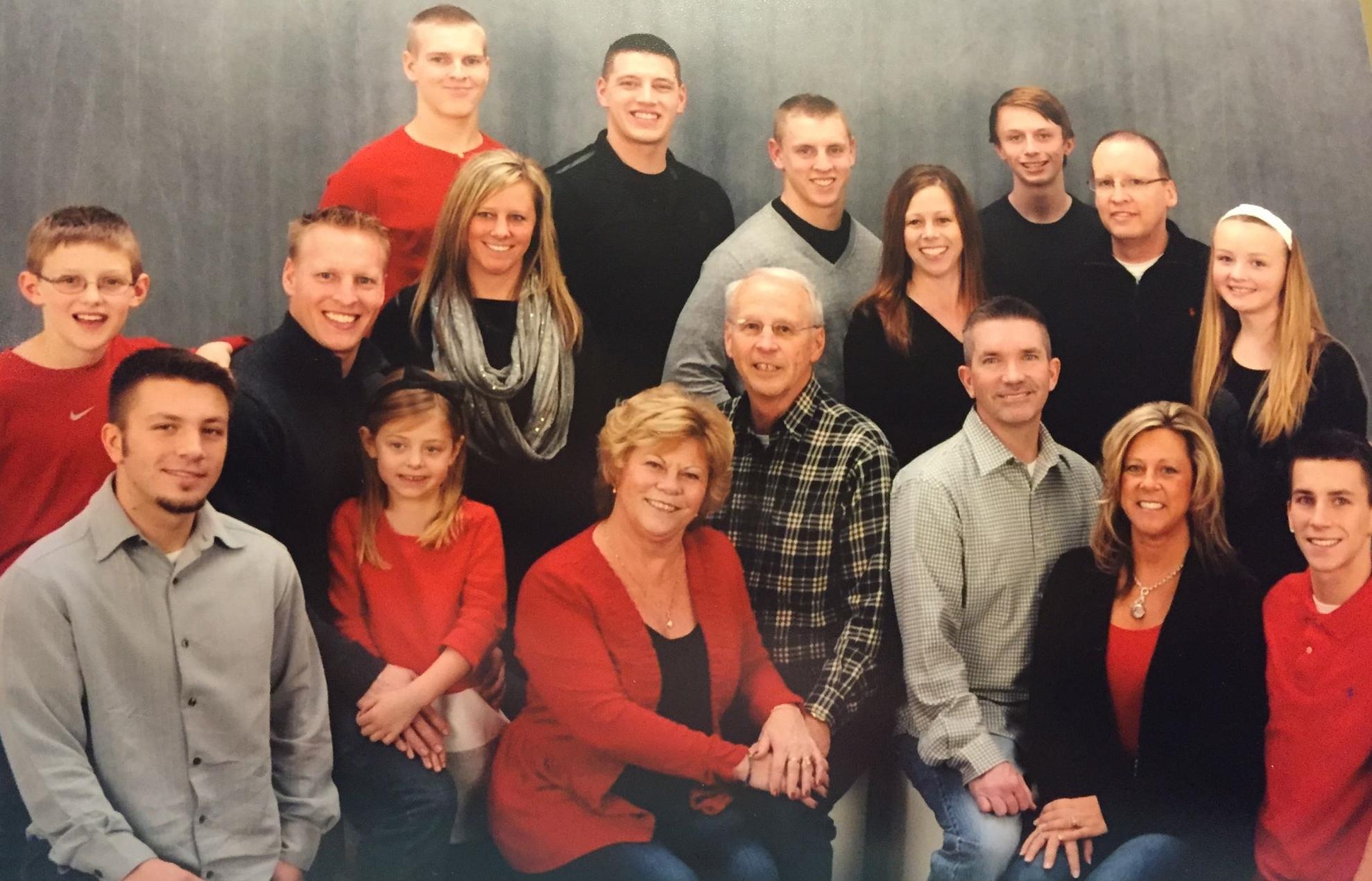 The Stubig clan, December 2014.