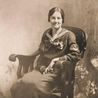 Eva Viola Fenner.  Photo courtesy of MaryAnn (Fenner)Kirby.