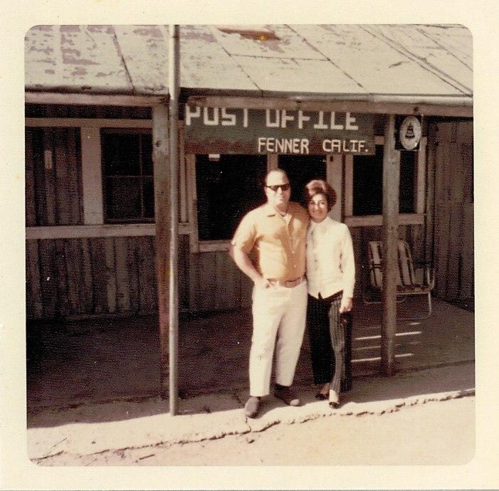 Raymond & Maria Fenner, 1970s. Photo courtesy of Richard Arthur Fenner.