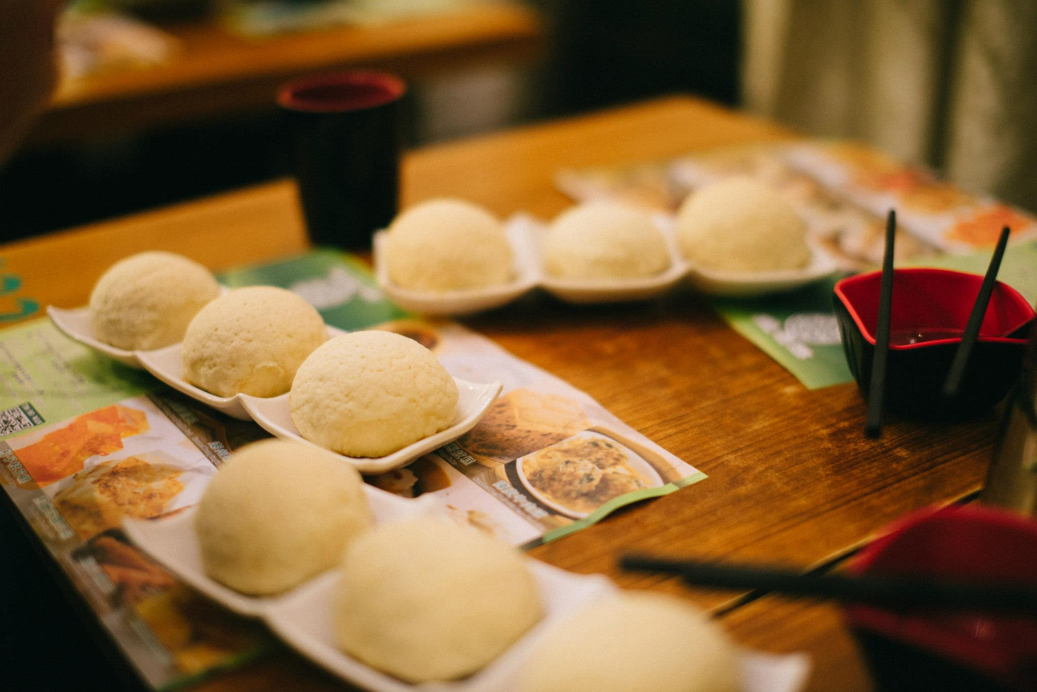 Tim Ho Wan's barbecue pork buns