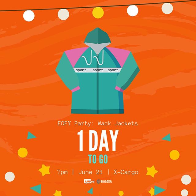 ⚡💃 FLASH SALE - ONE DAY TO GO 🕺⚡ ⚡TODAY ONLY: 20% OFF TICKETS⚡ That's just $8 for members, $12 for non-members 💸 Wrap up the semester in the only way we know how... with the WILDEST AND WACKIEST AFTER PARTY 🎉 With just one day to go, buy your ticket now, or risk missing out! (Link in bio)