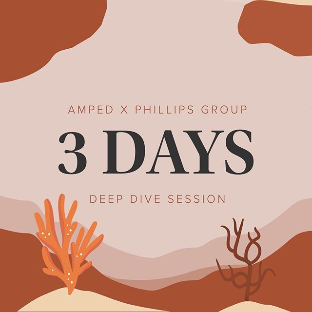 As if you needed any more incentive to buy a ticket to the AMPed x Phillips Group: Deep Dive Session, there are now only 3 DAYS TO GO, and very few tickets remaining! 🐠💦 Tickets are almost sold out, so head to the link in our bio! 🔸 Members: $10 🔸 Non-members: $15 🔸 Membership + ticket: $20