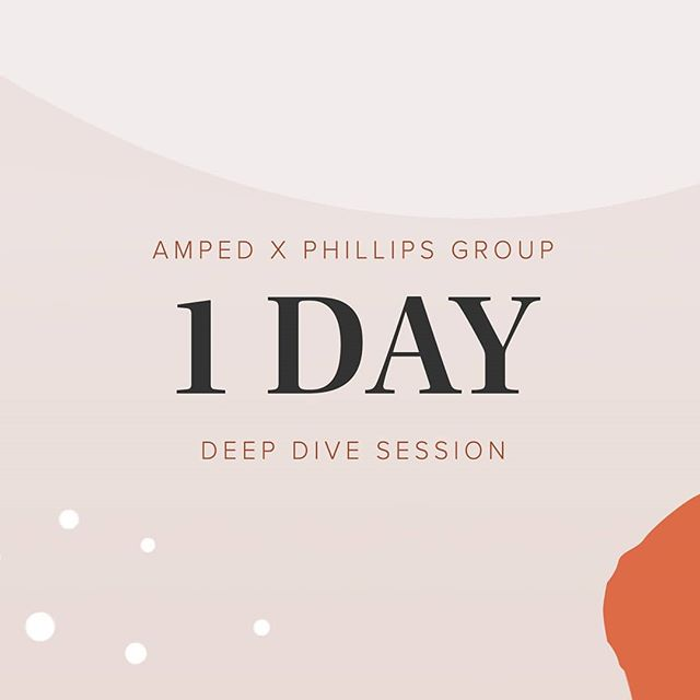 Last chance to grab your tickets for our Deep Dive event tomorrow with Phillips Group!! For more information and to buy tickets tickets check out the link in our bio!