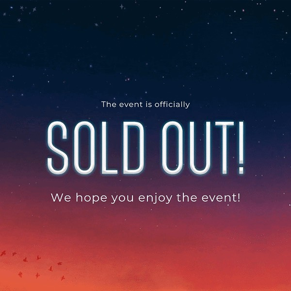 Business After Dark Gone Global is officially SOLD OUT 🎉  It's time to dust off those blazers and get ready to network up a storm! ⛈  If you have a ticket and realise you can't come please try and sell it on QPay, alternatively if you missed out be sure to check QPay for any last minute tickets!  We can't wait to see you all there 🧡