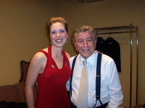Tony Bennett is the man and he is also quite petite. :-)