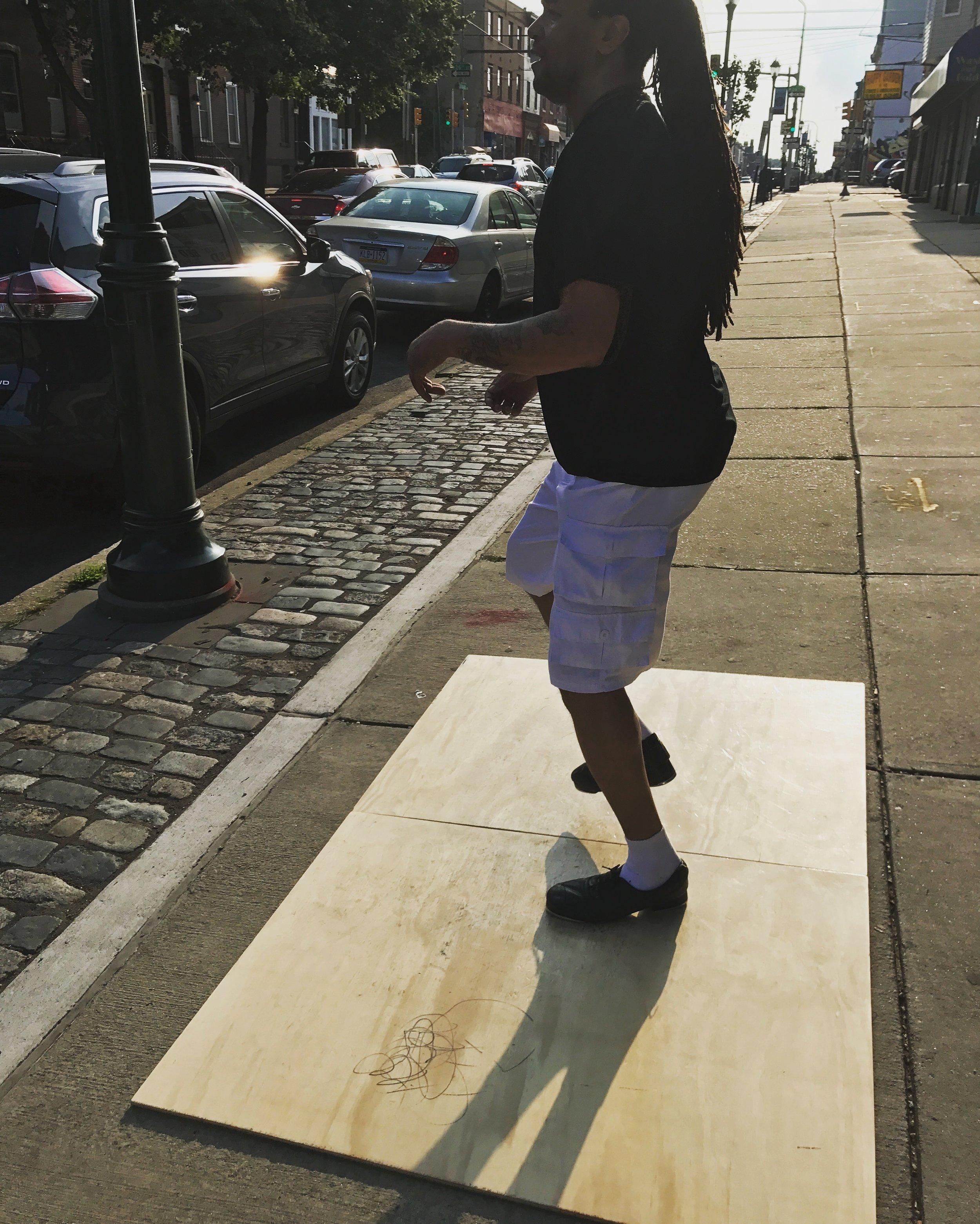Street hoofin