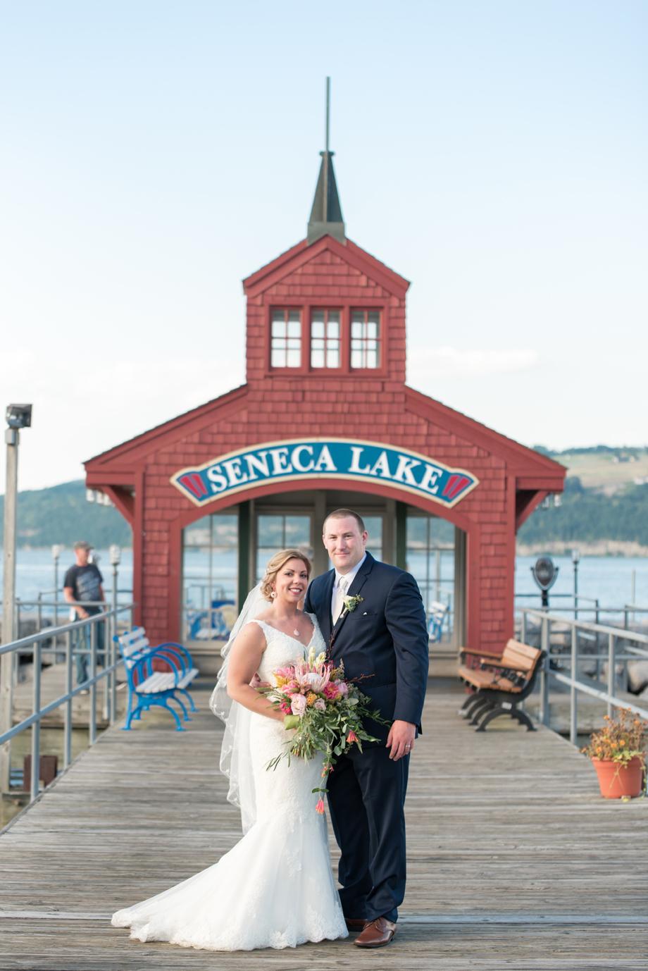 Wedding photography by Smile Peace Love Creative, taken at the Watkins Glen Harbor Hotel on Seneca Lake in Watkins Glen, NY. Finger Lakes Wedding Photographer. Watkins Glen Wedding Photographer.