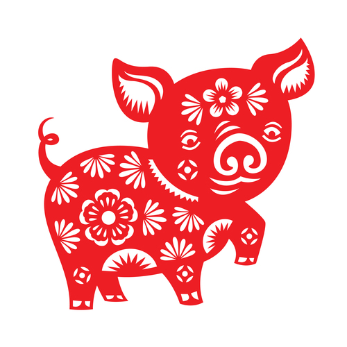 2019 = Year of the Yin Earth Pig!