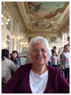In the dining room of the Orsay Museum in Paris, August 2015