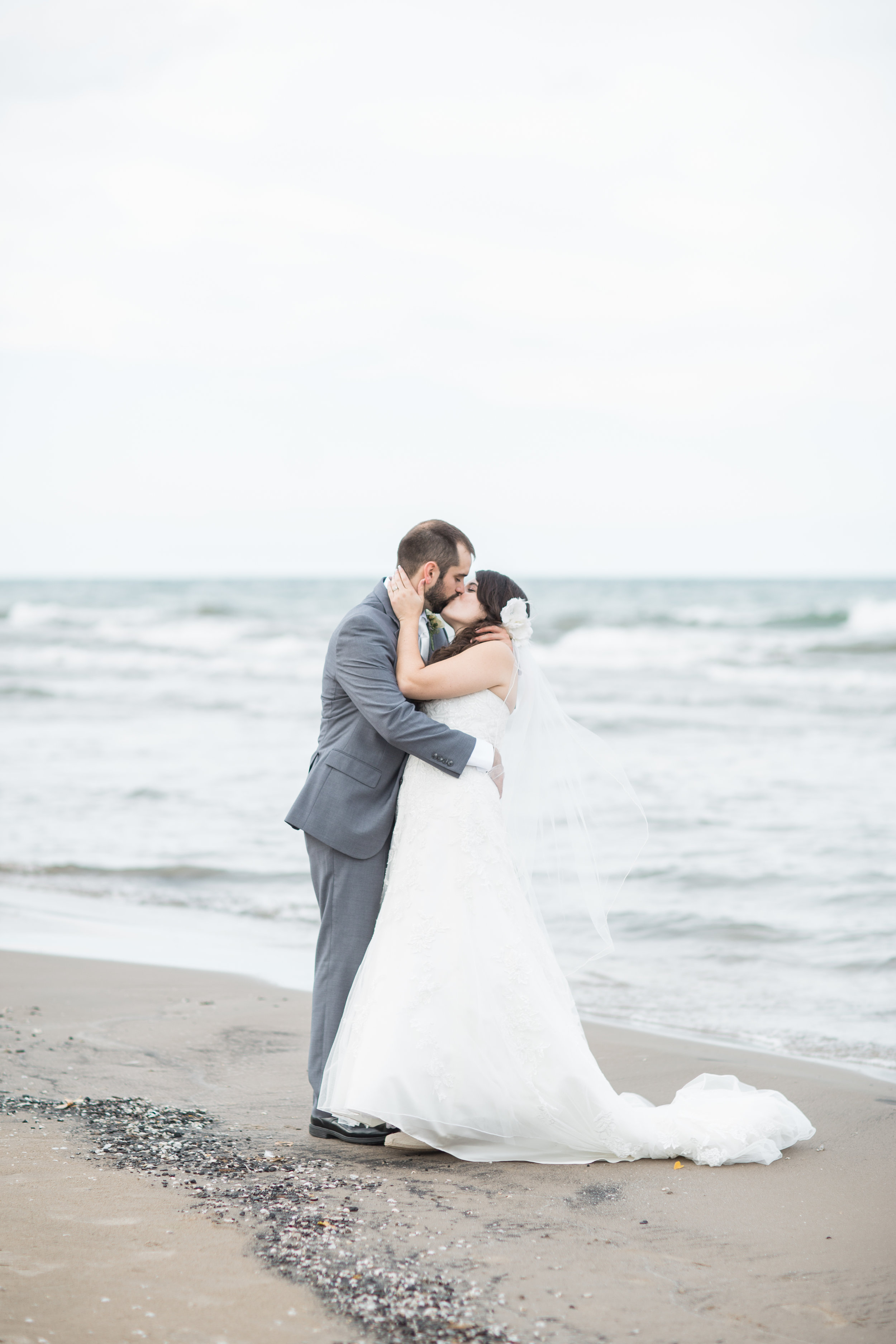 charlotte beach wedding photos