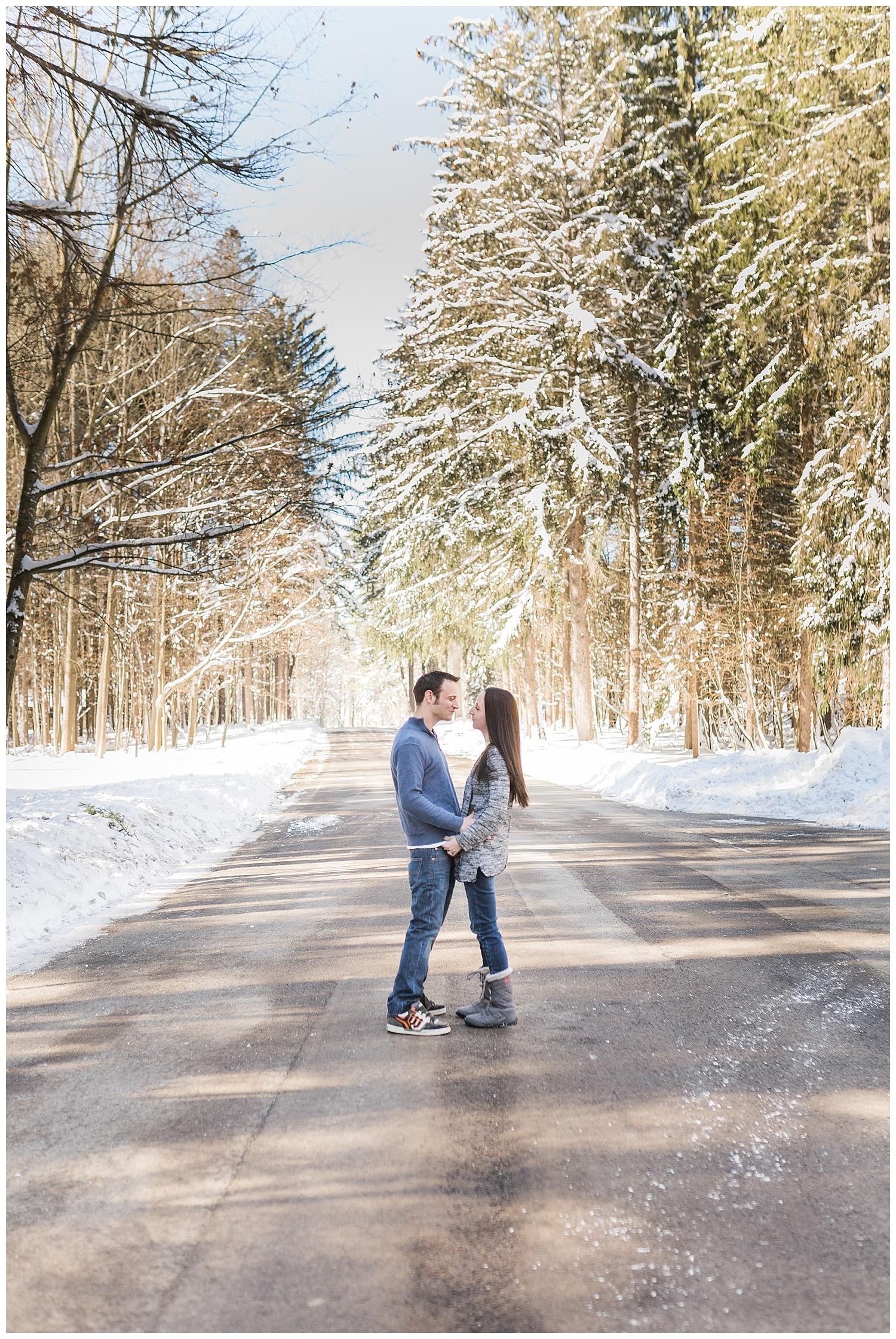 Matt and Jessica - Winter in Letchworth -6_Buffalo wedding photography.jpg
