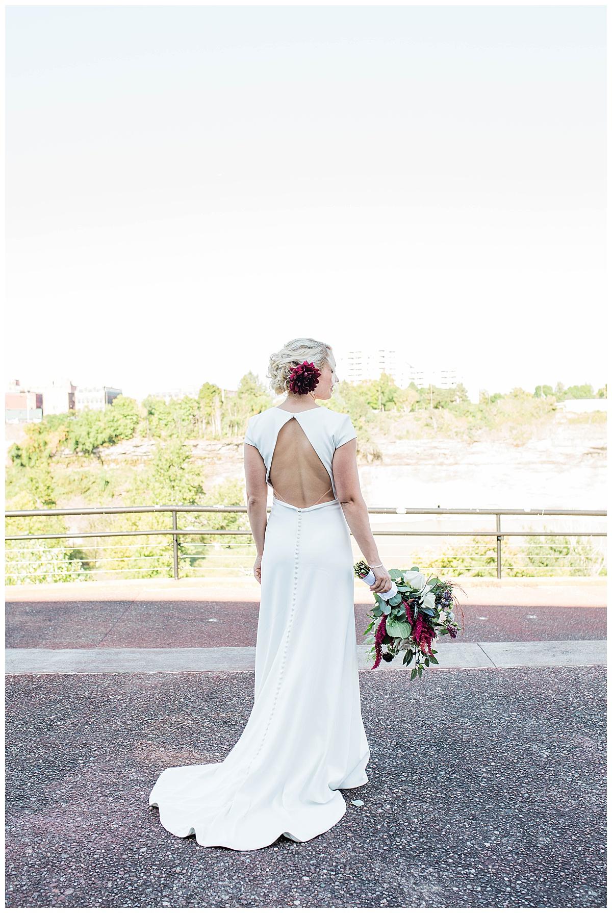 stella's bridal - Justin Alexander dress