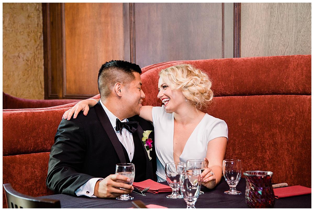 Hannah and rich - la luna wedding