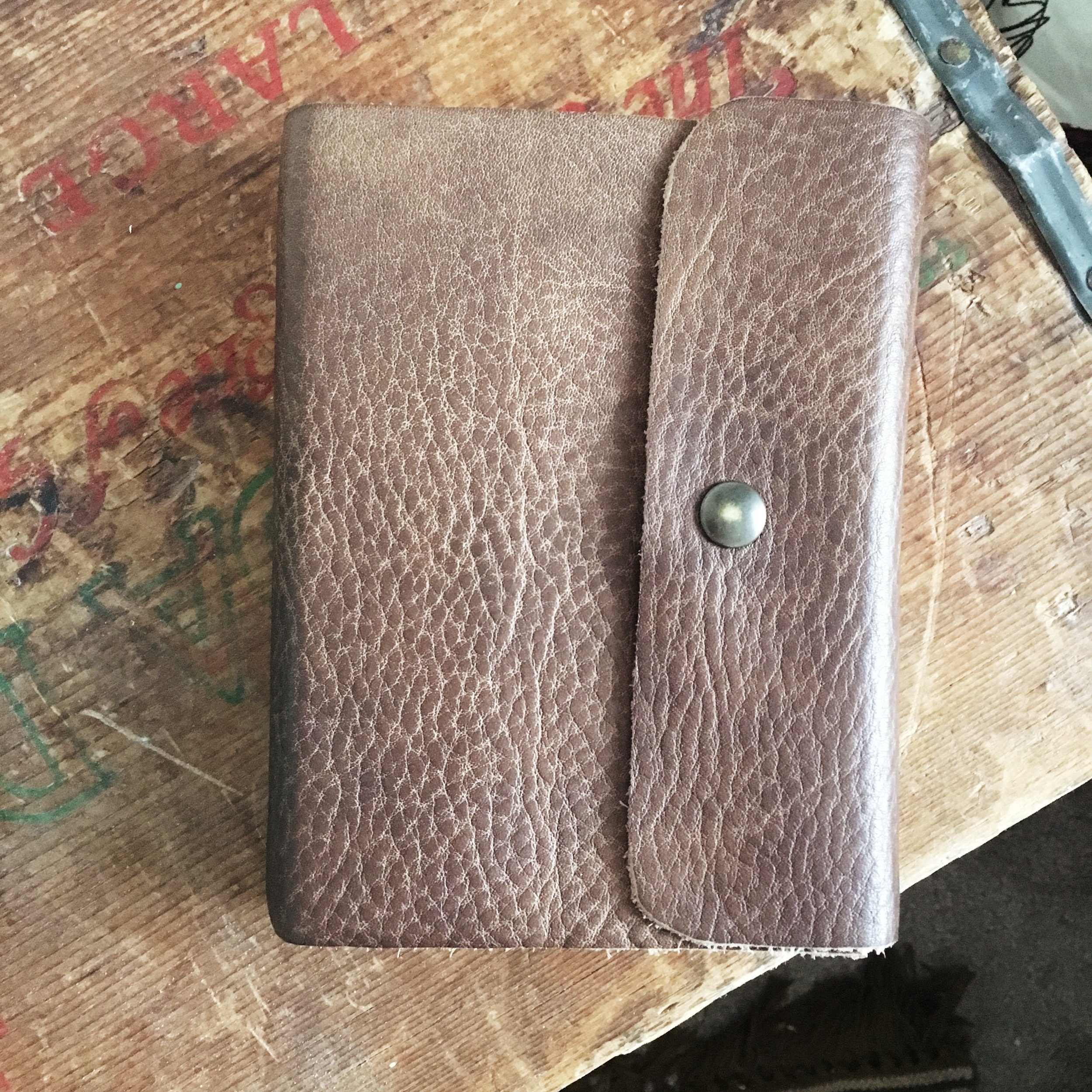 My little leather journal.