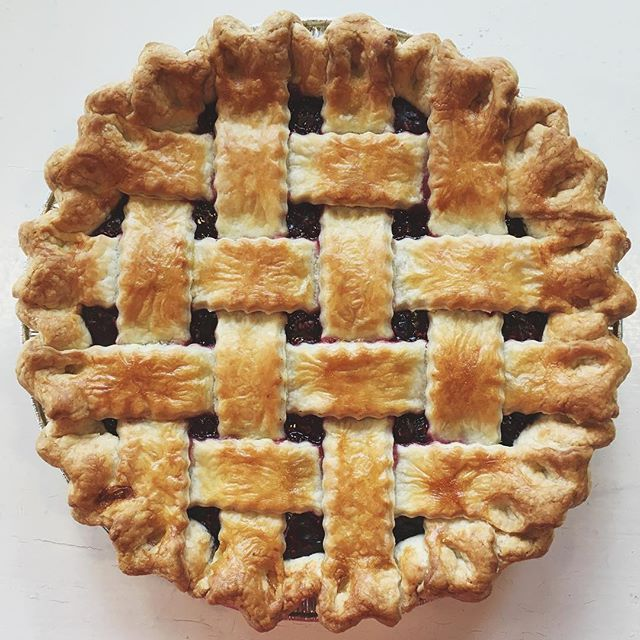 """Happiness lies in the joy of achievement and the thrill of creative effort."" -Franklin D. Roosevelt This is why I love baking pies. The joy of seeing the finished product is worth all the work that went into making it."