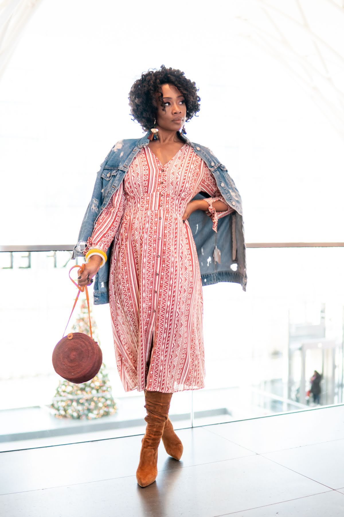 dress:  https://www.shoppinkblush.com/p-44838-yellow-printed-long-sleeve-button-up-midi-dress.aspx?DepartmentID=2  @shoppinkblush on Insta; www.shoppinkblush.com)