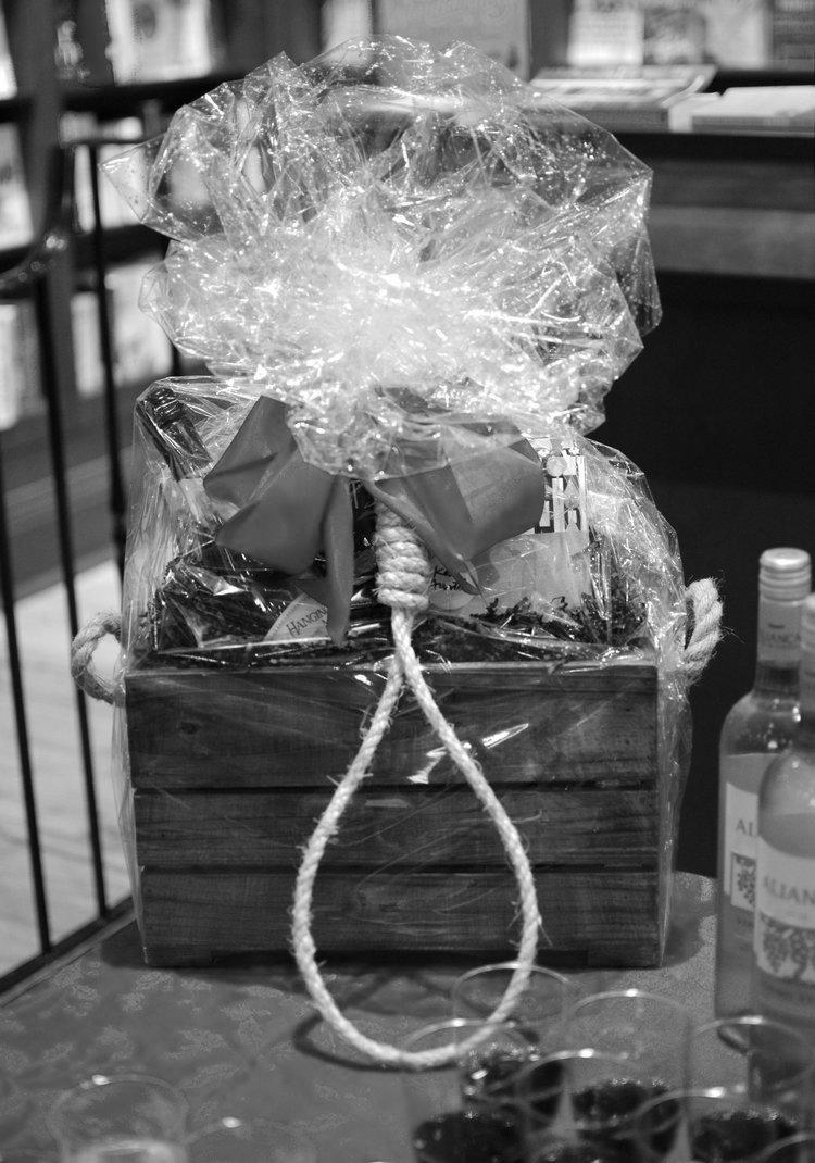 Themed gift basket
