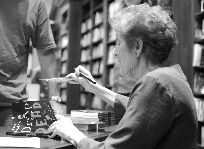 Lorna Poplar book signing