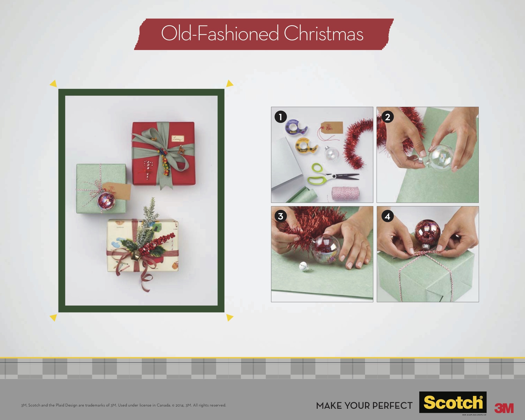 Scotch Brand Canada 2014 Holiday Gift Trends